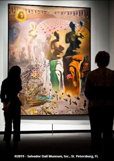 Image of The Hallucinogenic Toreador at the Dali Museum