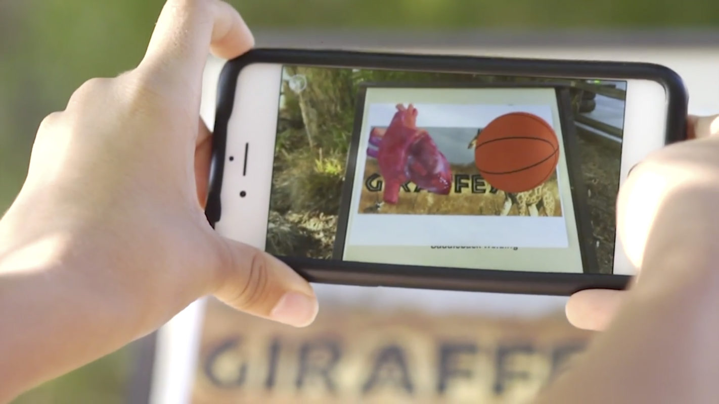 Augmented Reality at The Living Desert