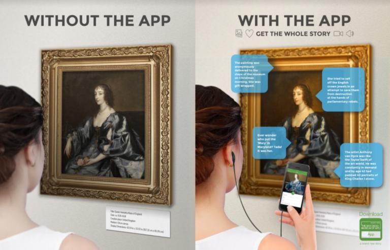 image of app bringing art to life